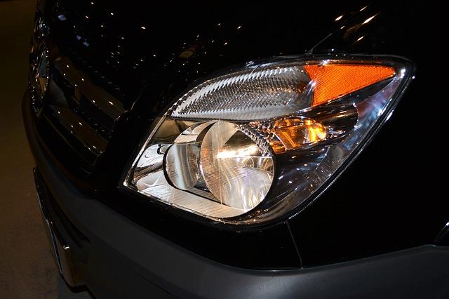 světla Toyoty